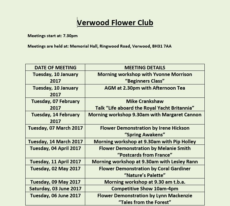 verwood-programme-page-1